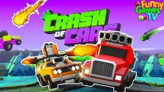БОЙОВІ МАШИНКИ #2 відео про машинки гра як про битву тачок машин Crash of Cars