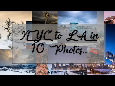 NYC to LA in 80 hours and 10 photos |  Photography Documentary Trailer