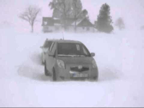 23 dec 2010 Hundpromenad i snöstorm på �sterlen