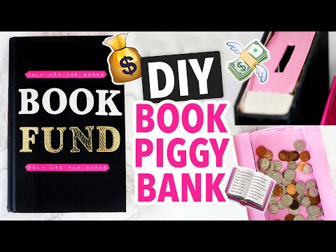 DIY Piggy Bank made from a Book! - HGTV Handmade
