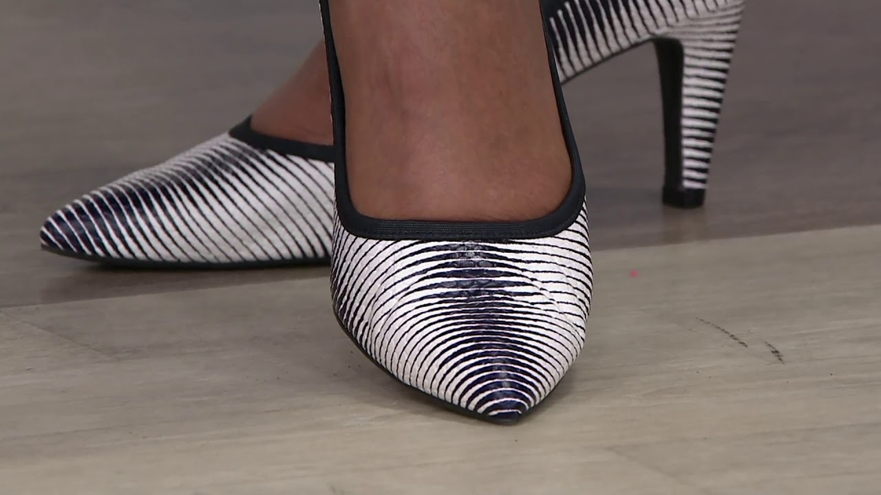 Lori Goldstein Collection Novelty Pumps on QVC