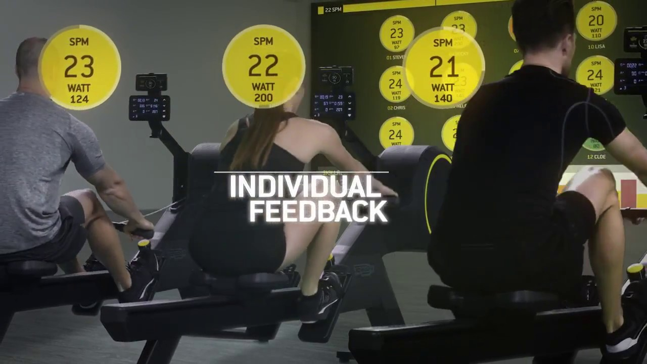 the new skillrow by technogym 2017 youtube. Black Bedroom Furniture Sets. Home Design Ideas