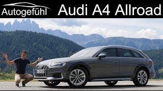 New Audi A4 Allroad FULL Review 2020 Facelift TFSI - Autogefühl