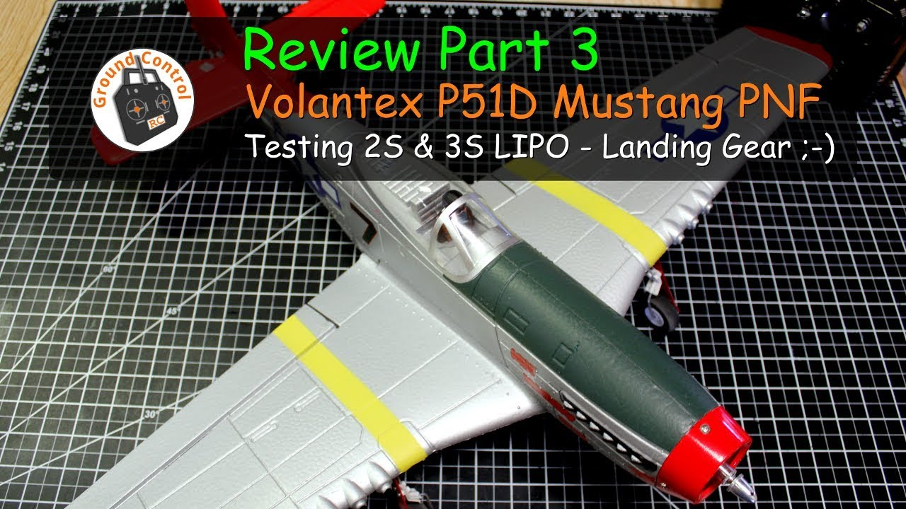 761-8 F4U VOLANTEXRC 2 Sets Front Landing Gear for RC Airplane 761-5 P-51 Mustang
