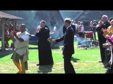 Royal Visit to Sainte-Marie among the Hurons