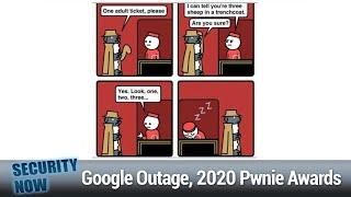 SolarWinds - Chrome Throttling Ads, Google Outage, 2020 Pwnie Awards, JavaScript's 25th Birthday