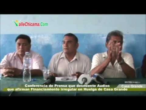CONFERENCIA DE PRENSA QUE DESMIENTE AUDIOS DE CULTURAL NOTICIAS