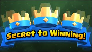 Clash Royale : Secret To Winning - How To Win With Elixir! Pro Tips And Strategy