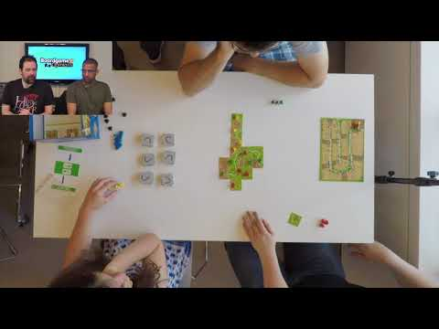 Carcassonne (Final Table at the 2017 Mind Sports Olympiad)