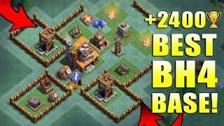 Clash Of Clans Builder Base Level 4 + Replays - Best Bh4 Builder Base