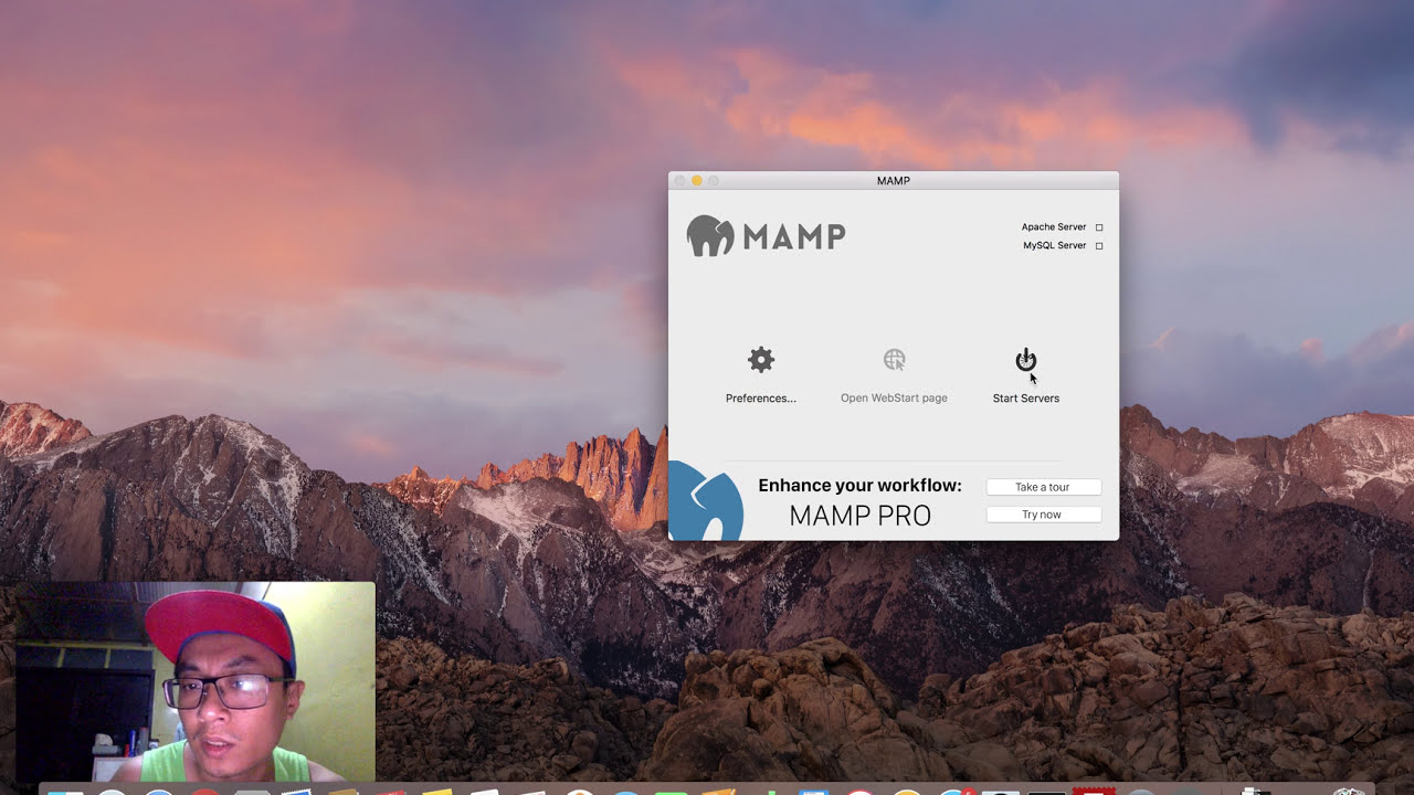 Hello World Tutorial using PHP and How to install MAMP on Mac