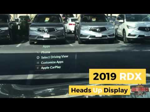 2019 Acura Rdx Heads Up Display Hud