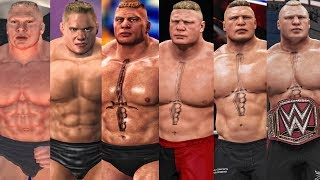 The Evolution Of Brock Lesnar Entrances ( SmackDown! Shut Your Mouth To WWE 2K18 )