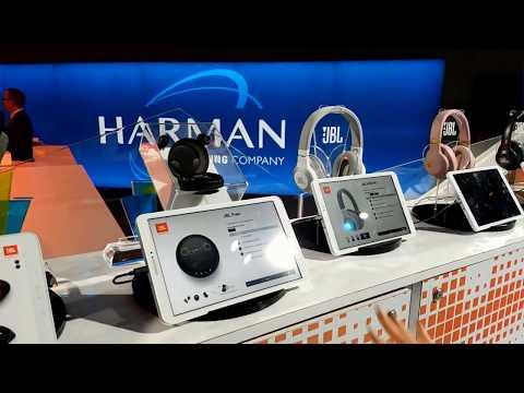 Harman Kardon AKG & JBL - CES 2018 Booth New Speakers, Headphones & Earphones