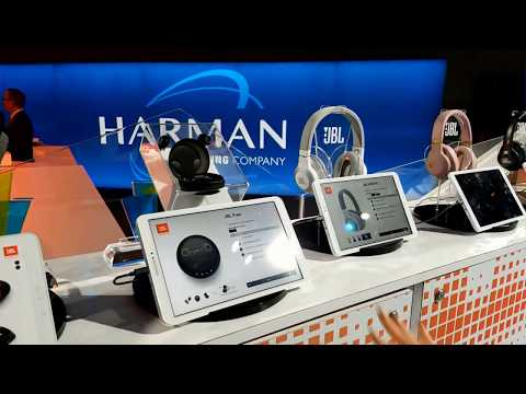 5c9e6e3f792 Harman Kardon AKG & JBL - CES 2018 Booth New Speakers, Headphones &  Earphones - YouTube