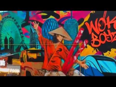 Graffiti Street Art Branding For a Restaurant