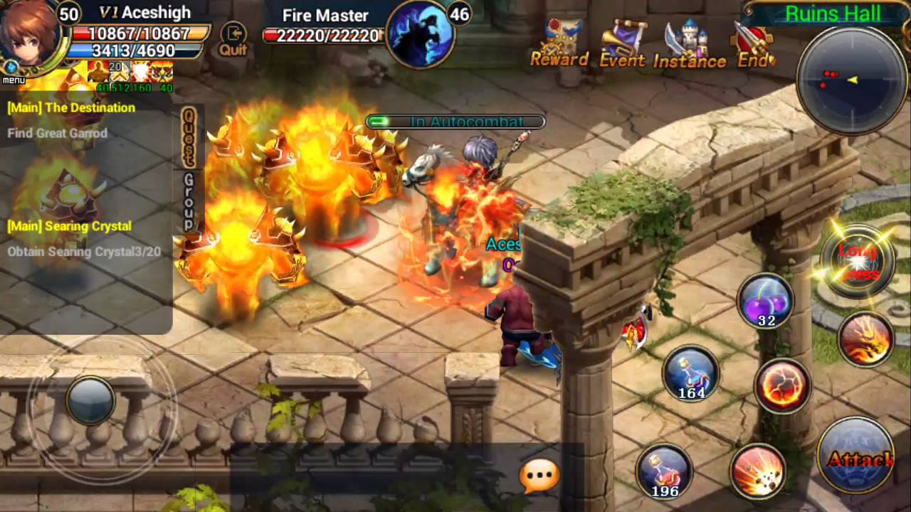 Legend Of King ARPG Android gameplay - YouTube