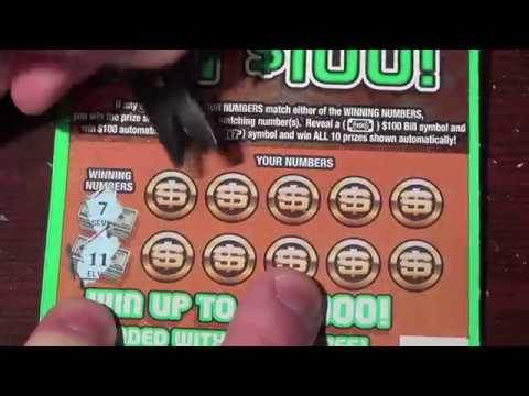 Ohio Lottery Scratch Off Bingo - Caroline Guitar Company