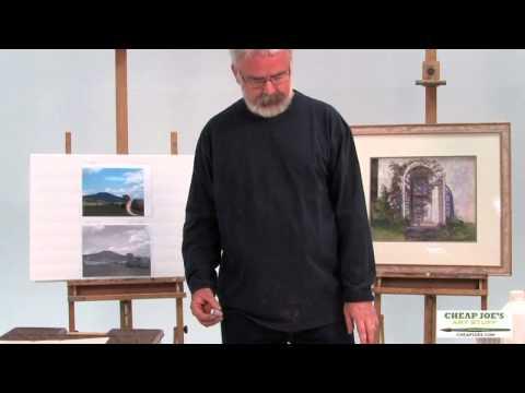 Pastel Techniques with Paul deMarrais – A Color Value Composition (Part 1)