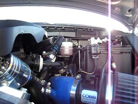 forge bpv and cobb intake on mazda cx-7 (engine bay) - youtube