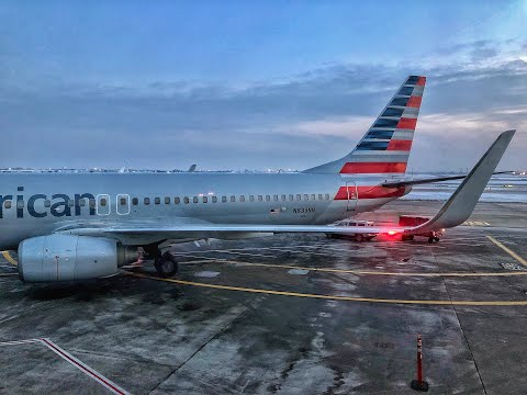 American Airlines | Boeing 737-800 | ORD-ATL | Main Cabin Extra