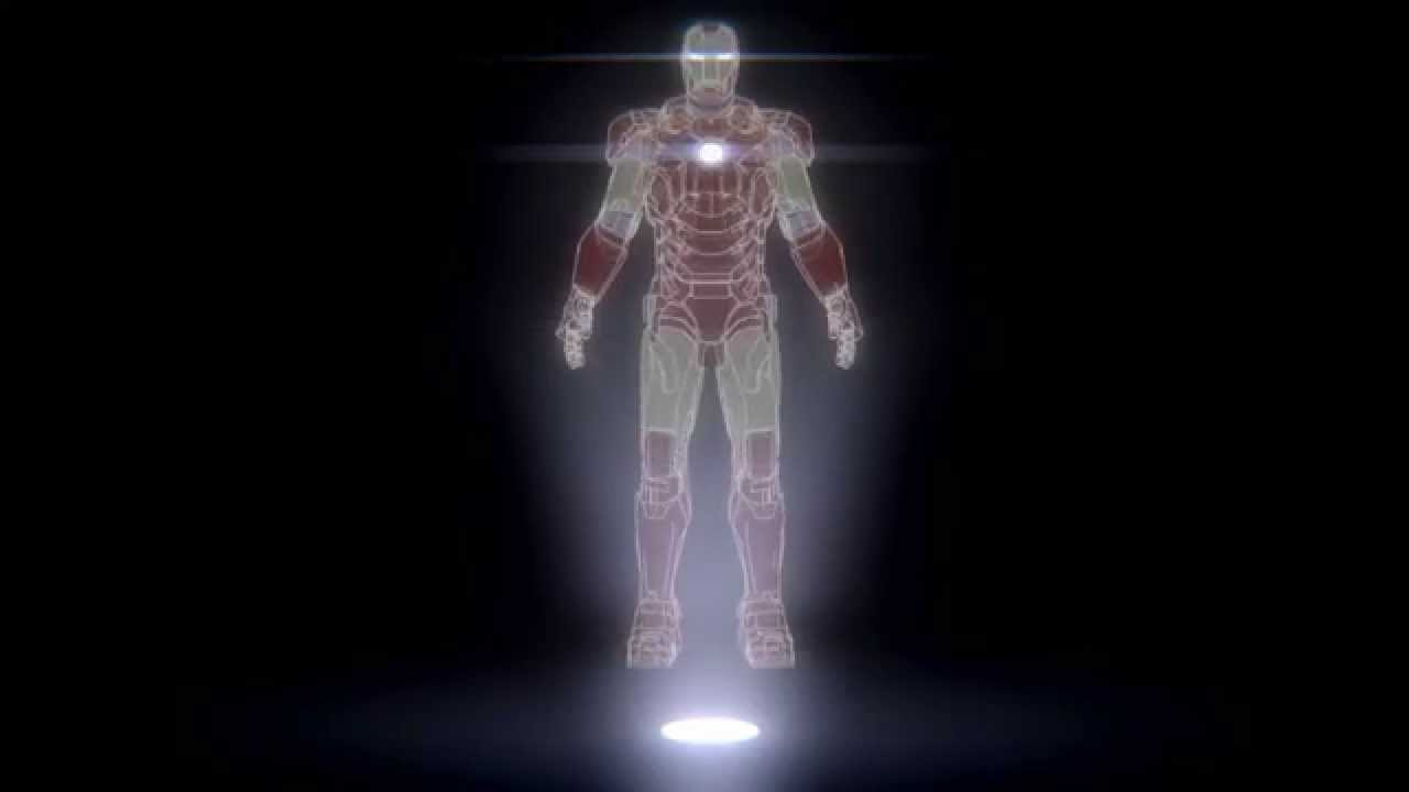 Ironman Hologram dreamscene - YouTube