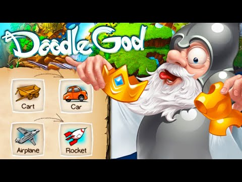 Creating a ROCKET SHIP in Doodle God! |