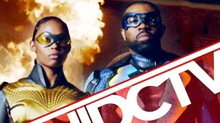 #DCTV: BLACK LIGHTNING Origin Revealed + KRYPTON Threat Rises