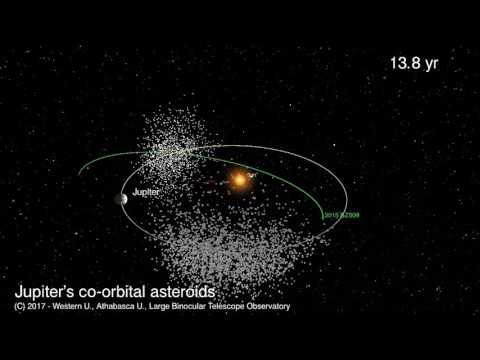 Wrong-way asteroid avoids cosmic crash