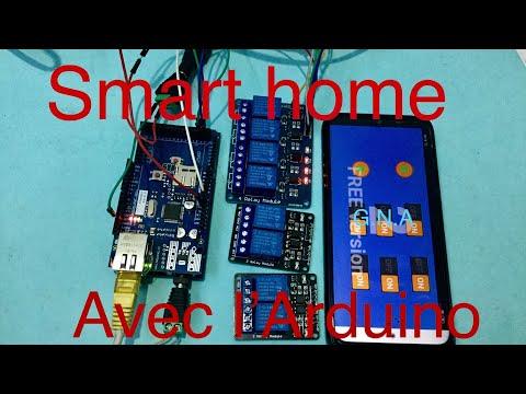 smart home , la domotique avec une carte Arduino a prix bas .très facile a réaliser