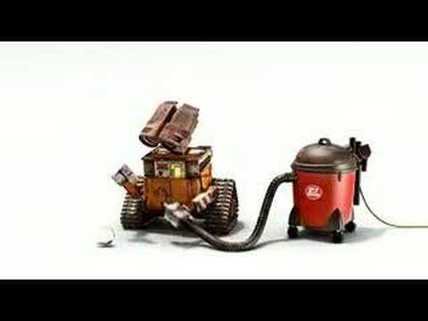 Wall E Meets A Vacuum Vignette Youtube