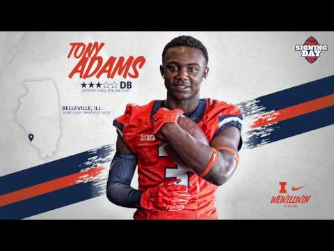 Illini Signing Day 2017 » Tony Adams