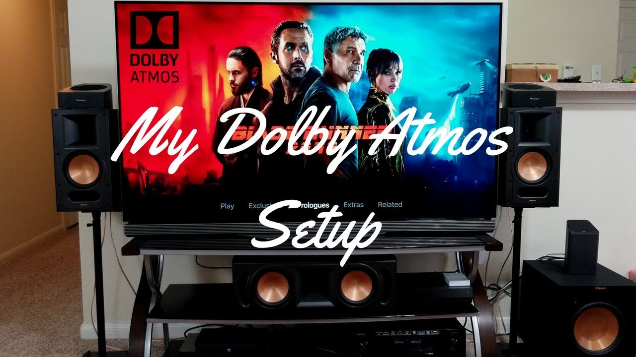 My Dolby Atmos Home Theater 512 Setup Tour Youtube Yamaha Wiring Diagram