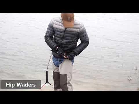 Kylebooker Fly Fishing Hip Waders
