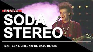 SODA STEREO en Martes 13, Chile (20.05.1986) // Recital completo