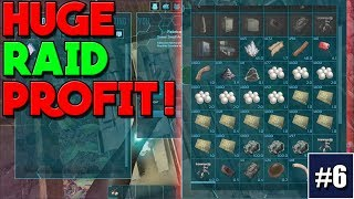 NOOB TO GOD OFFICIAL SMALL TRIBES / EP 6 / ONE C4 TO HUGE PROFIT! RAIDING AN OPEN BASE!