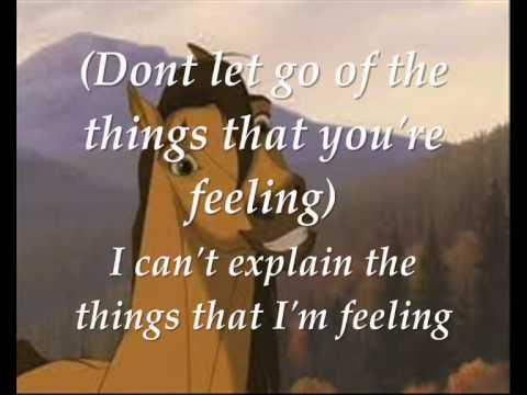 Spirit - Don't let go (With lyrics)