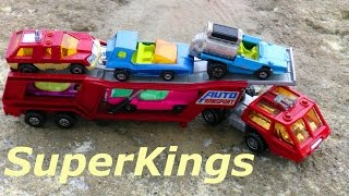 Old Toys - Car Transporter Matchbox Super Kings 1976 Made In England By Lesney