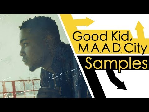 Every Sample From Kendrick Lamars Good Kid MAAD City