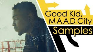 Every Sample From Kendrick Lamar's Good Kid M.A.A.D City