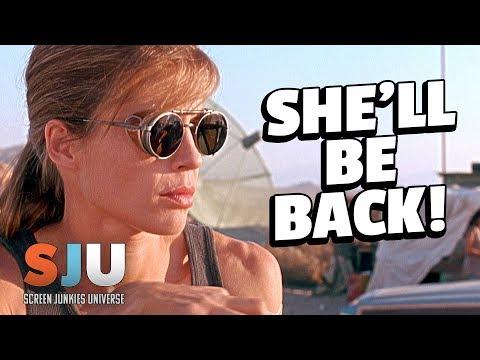 Linda Hamilton Returning to Terminator! - SJU