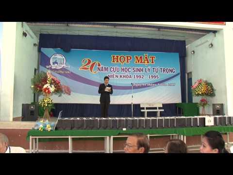 Ly Tu Trong hop mat 20 nam khoa 92 95
