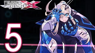 Gunvolt Chronicles Luminous Avenger iX Walkthrough - Part 5 - City Slums 2, Sumeragi Secret Bunker 1