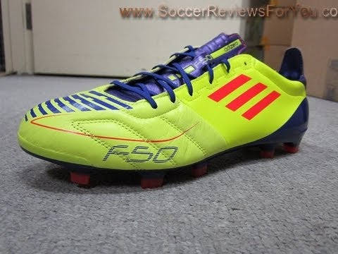b92aae70fe8 adidas F50 adizero TRX FG (Leather)-Electricity Infrared Sharp Purple  Anodized - UNBOXING