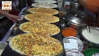 Hyderabad Street Dosa | Paneer Dosa | Masala Dosa | Pizza Dosa | Indian Street Food