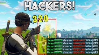 The Types of Fortnite Hackers
