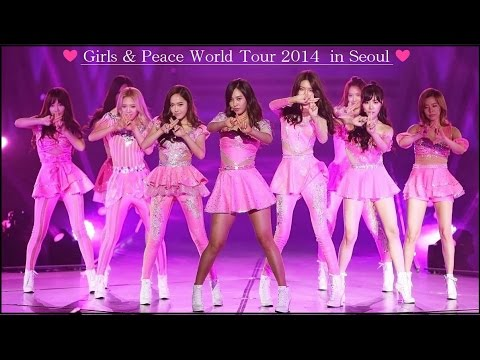 "HD [SNSD] 少女時代 / ""Girls & Peace""  World Tour 2013 In Seoul [FULL]"