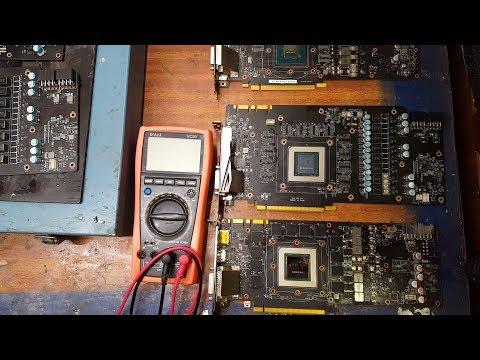 видео: Почему не стоит ремонтировать видеокарты с пробитыми чипами памяти