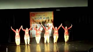 Bloomington Marathi Mandal 2012- Dance on Deva Shri Ganesha