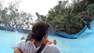 The Boomerang Water Slide at Dam Sen Water Park